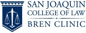 San Joaquin College of Law BREN Clinic Logo